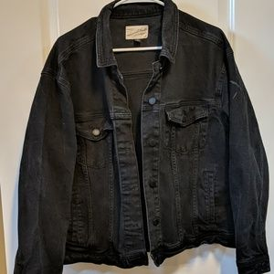 Universal Threads Black Jean Jacket
